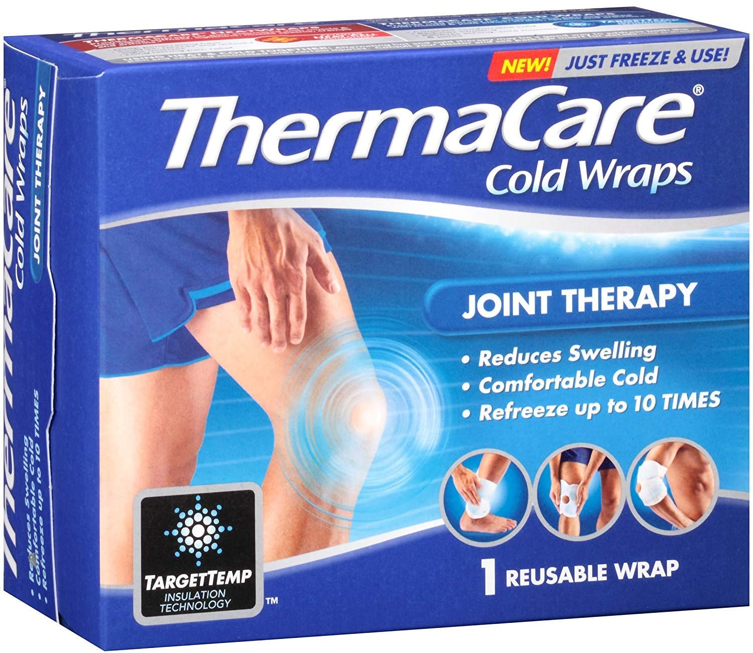 ThermaCare Reusable Cold Wraps Joint Therapy 1 ea (Pack of 2)