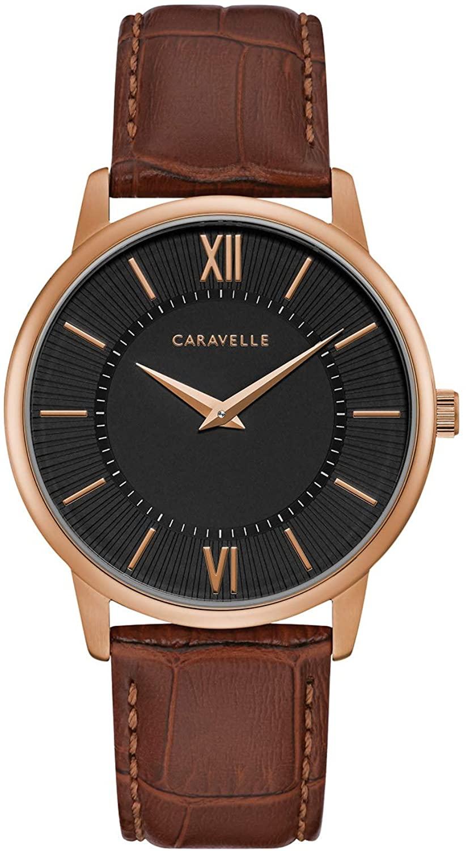 Caravelle Designed by Bulova Dress Watch (Model: 44A115)