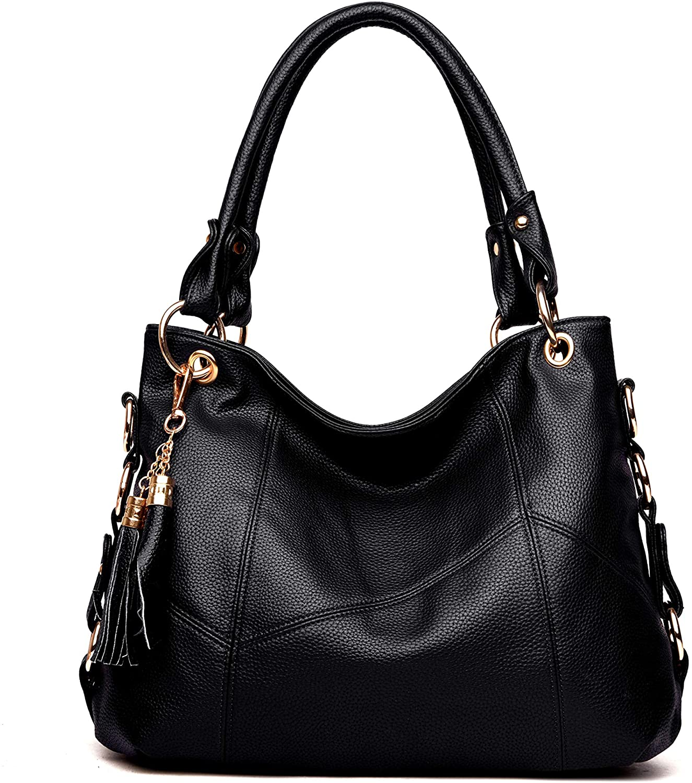 Women's Genuine Leather Tote Shoulder Bag Girls Ladies CrossBody Totes Handbags
