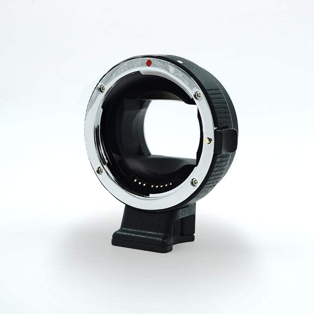 Auto Focus Adapter, MEIQ EF-EOS M Lens Adapter Converter, Focal Reducer Speed Booster Adapter for Canon EF EF-S Mount Lens, for NEX 3/3N/5N/5R/7/A5000/A6000