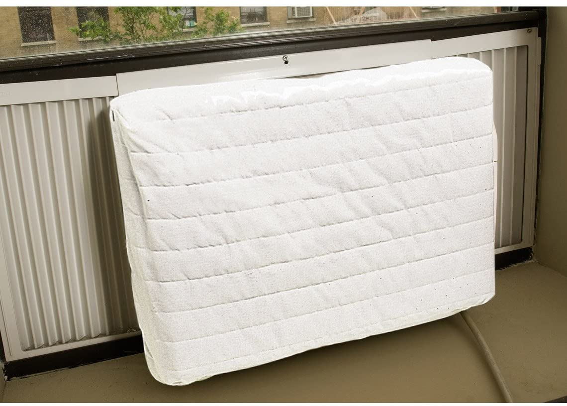 Carol Wright Gifts Quilted Indoor Air Conditioner Cover, Size Medium, Size Medium