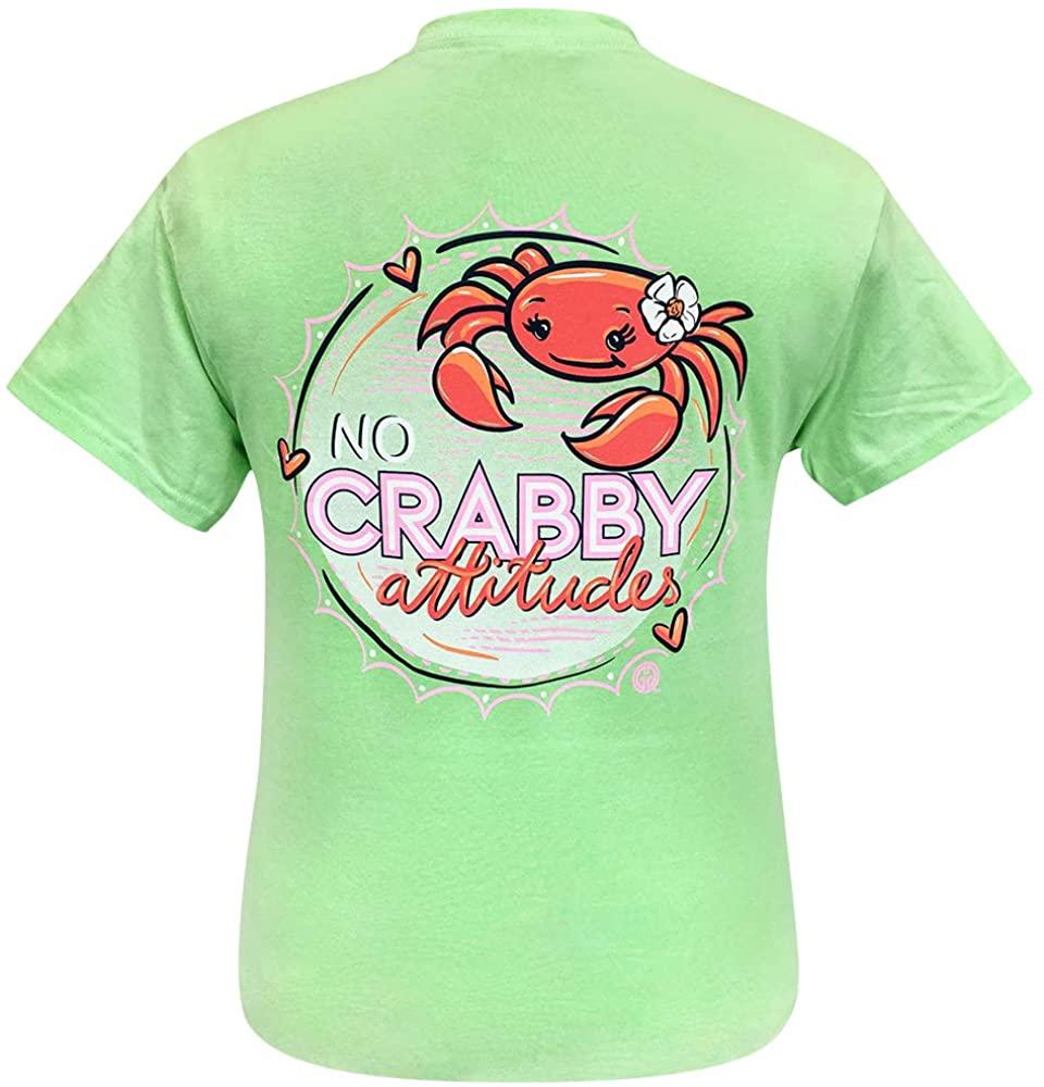 Girlie Girl Original No Crabby Attitudes Short Sleeve T-Shirt Adult