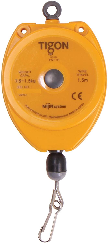 Tigon TW-1R Retractor, Spring/Tool Balancer (0.5-1.5 kg/1.1-3.3 lbs) Adjustable cable stopper