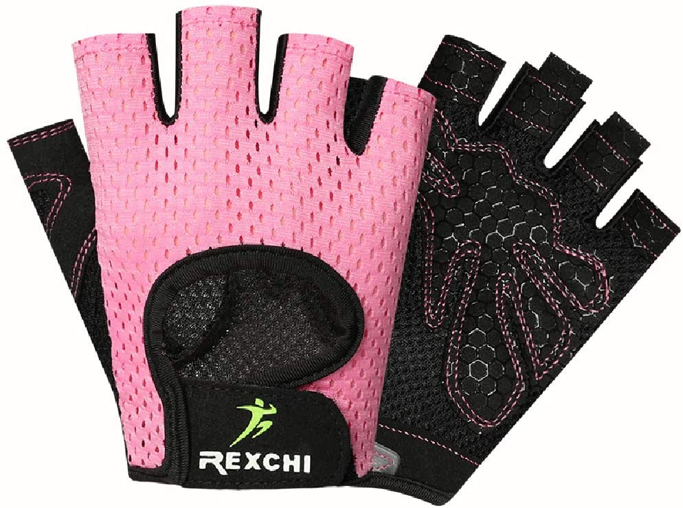 CURELIX Exercise Gloves for Men and Women, Workout Gloves for Training Fitness Weight Lifting Gym
