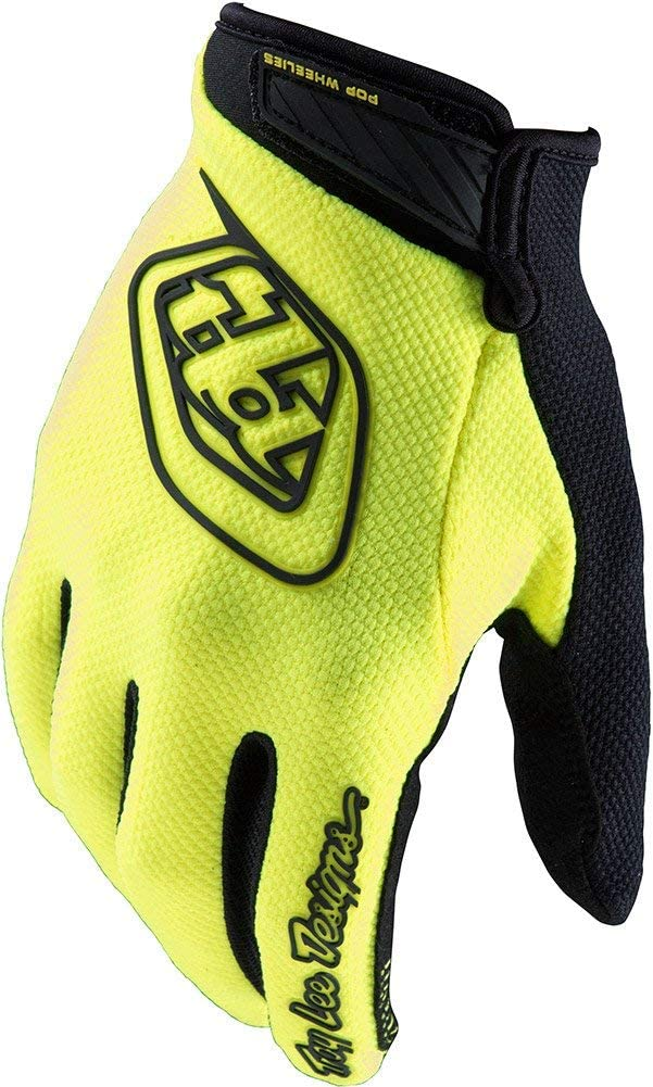 2016 Troy Lee Designs Air Gloves-Flo Yellow-2XL