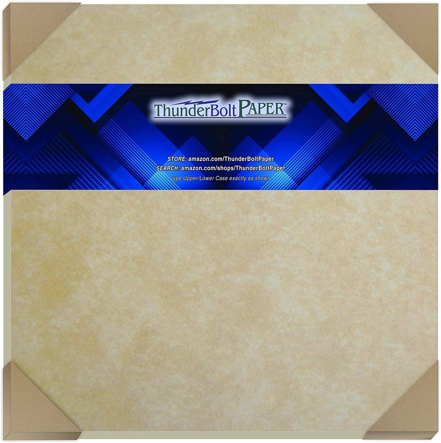 25 Old Age Parchment 65lb Cover Paper Sheets 12 X 12 Inches Cardstock Weight Colored Sheets (12
