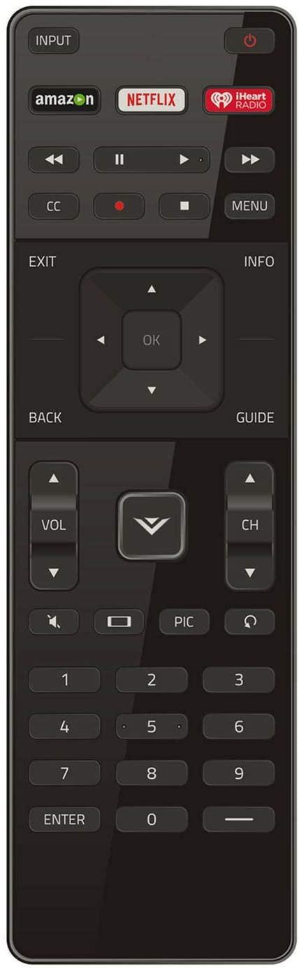RJMom New for Vizio XRT122 Remote E55-C2 E60-C3 E65x-C2 E65-C3 E700i-B3 E70-C3 D24D1