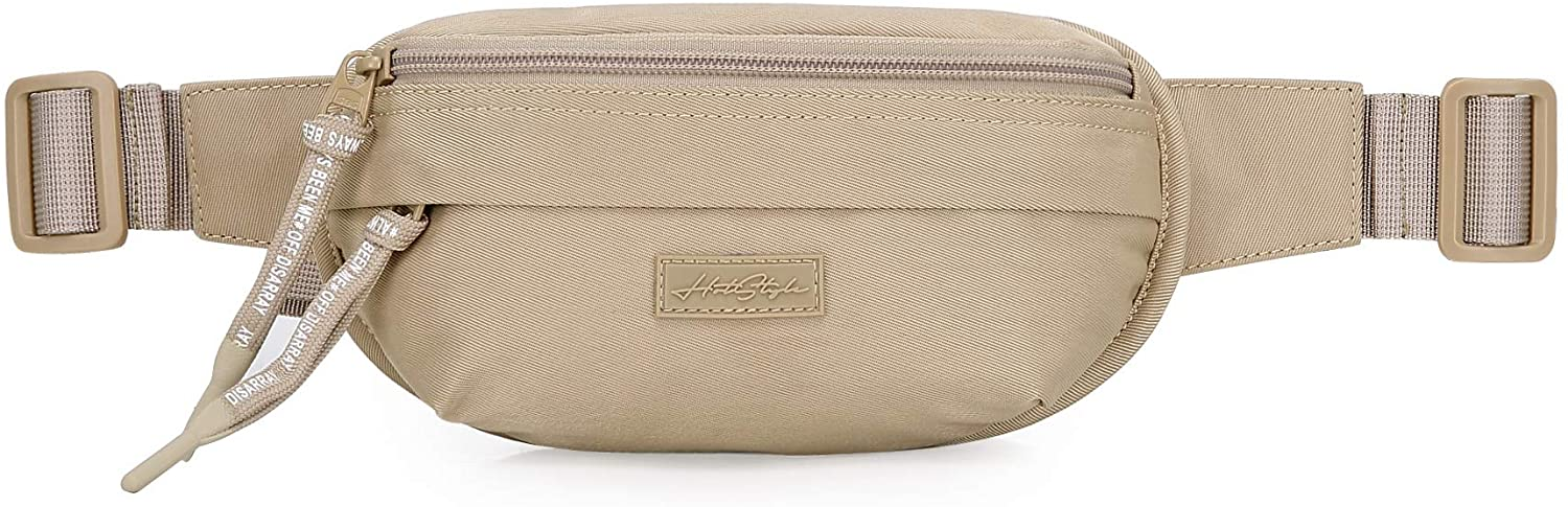 3323s Small Fanny Pack Mini Waist Bag Cute for Women Girls, Khaki