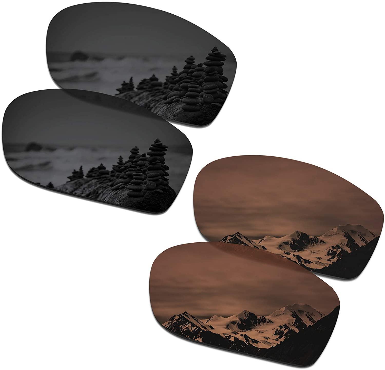 SmartVLT Men's Replacement Lenses for Oakley Valve New 2014 OO9236 Sunglass - More Options