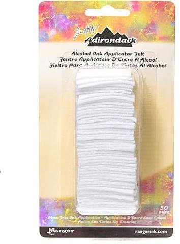 Tim Holtz Adirondack Alcohol Ink Applicator Felt 50/Pkg-For Tim20745