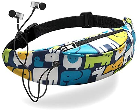 Fashion Waist Packs Waist Bag Canvas Sports Leisure Outdoor Multi-Function Large Capacity Practical Wear-Resistant Cash Register Business Package