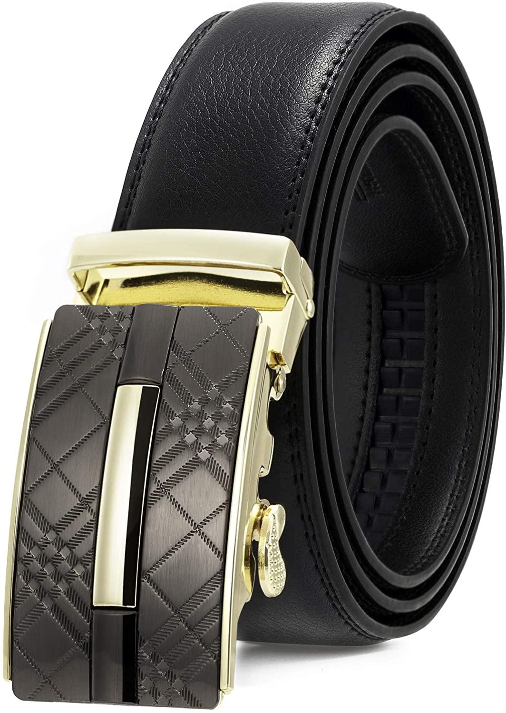 Katusi Men's Belt Genuine Leather Kts94