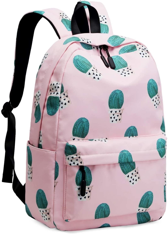 Lightweight School Backpack for Teens Water Resistant Bookbags Casual Travel Daypack