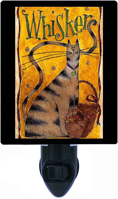 Cat Night Light, Whiskers, LED Night Light