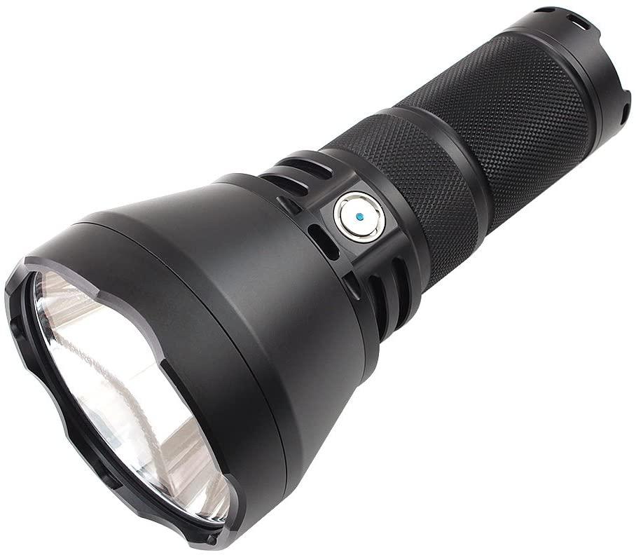 ThruNite TN42 2000 Lumen CREE XHP 35 Hi LED Flashlight Black Powered by 4 x 18650 Batteries - NW
