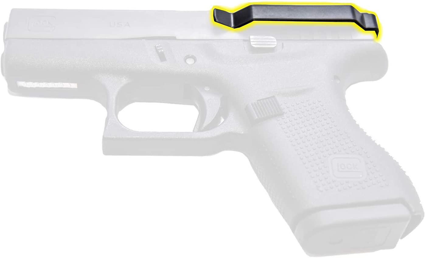 ClipDraw Gun Clip, Low Profile Slim Concealed Carry Easy Install American Made