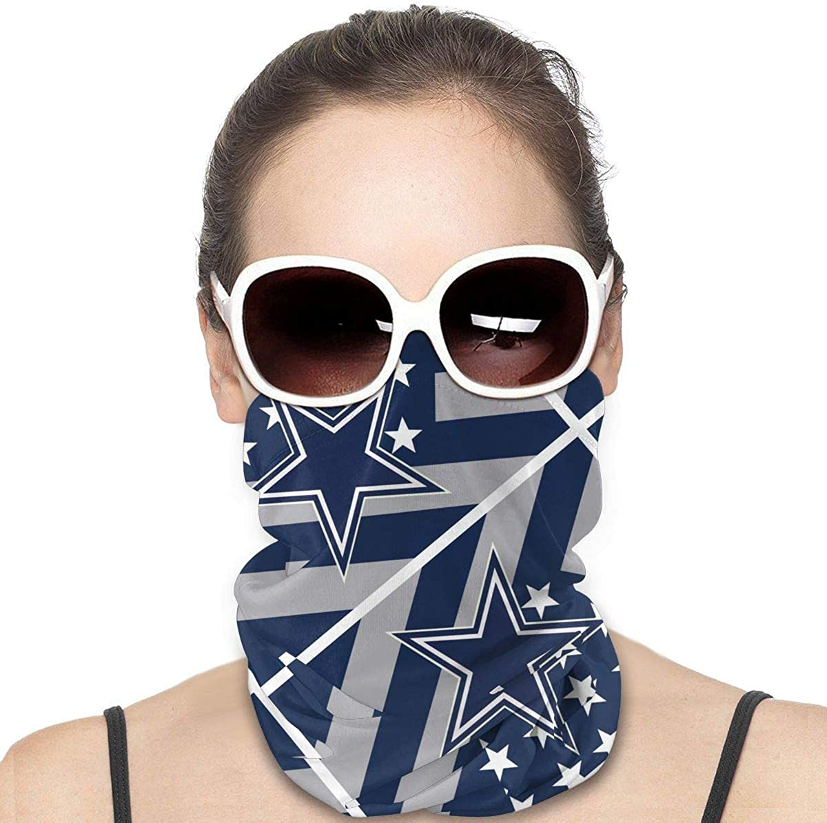 G-III Sports Bandanas Anti Dust Face Scarf 3D Print American Football Team for Outdoor Sports