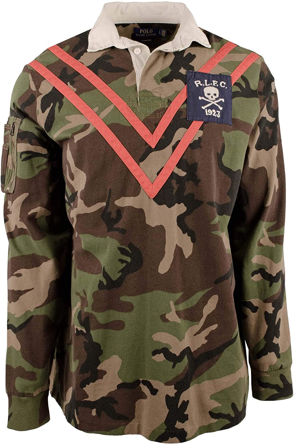 Polo Ralph Lauren Men's Camouflage Long Sleeve Rugby Shirt