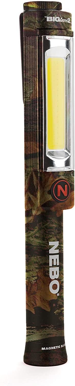 500-lumen mechanic inspection flashlight: NEBO Big Larry 2 (Camo)