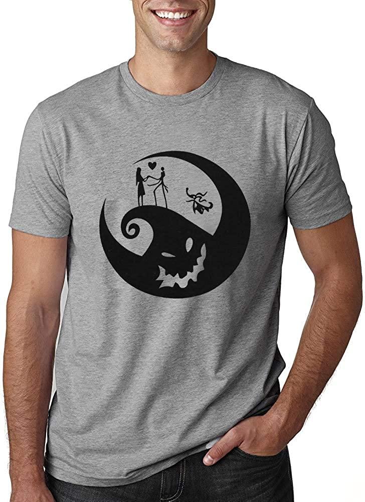 Men Halloween Graphic Print T-Shirt Funny Pumpkin Face Shirt Fall Casual Short Sleeve Tee Top Blouse