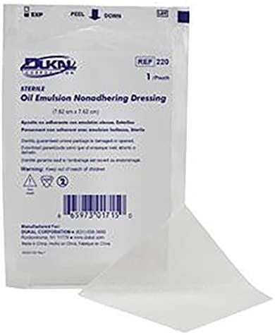 Dukal Pack of 24 Sterile Oil Emulsion Gauze Dressing 3