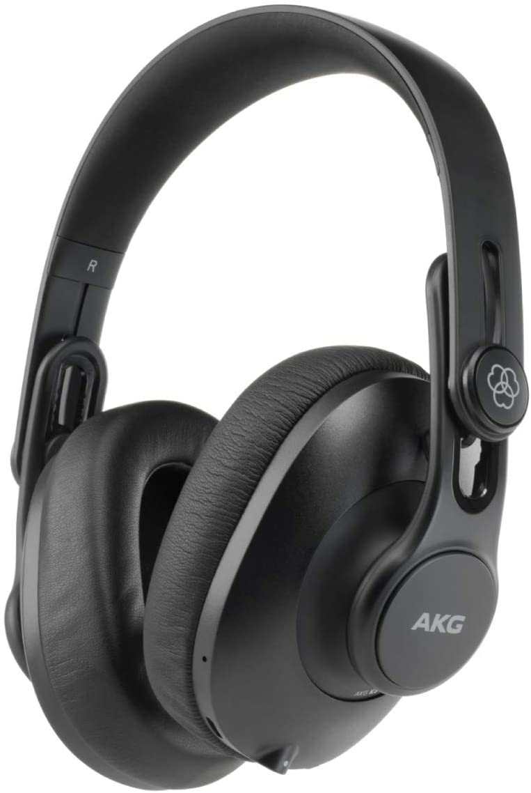 AKG Pro Audio K361BT Bluetooth Over-Ear, Closed-Back, Foldable Studio Headphones