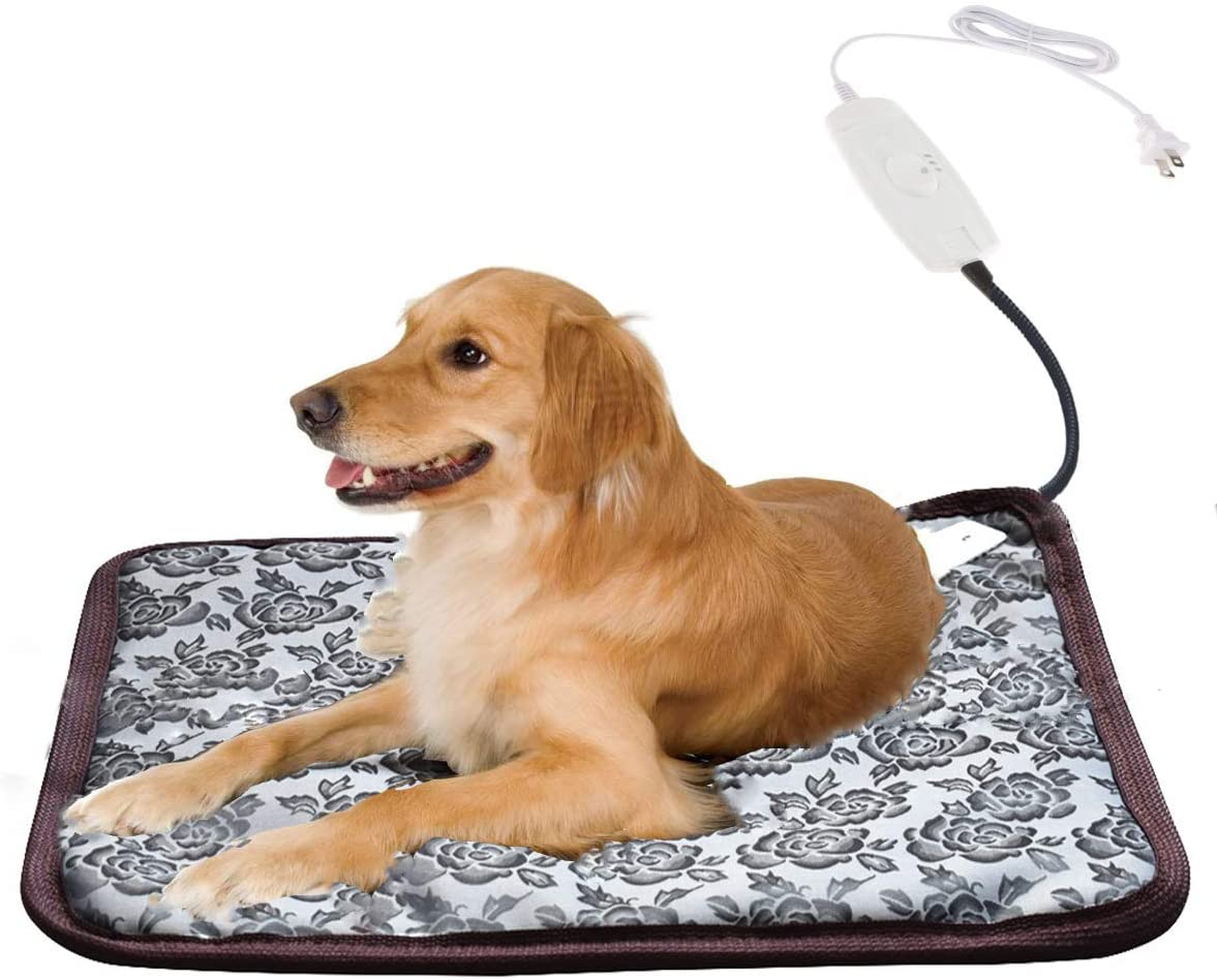 Wegifo Pet Heating Pad, Indoor Electric Safe Bed for Large Dogs and Cats (20.8