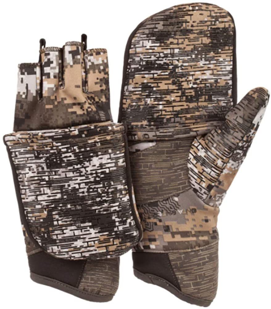 Huntworth Men's Stealth Pop Top Hunting Glove, Disruption, Large