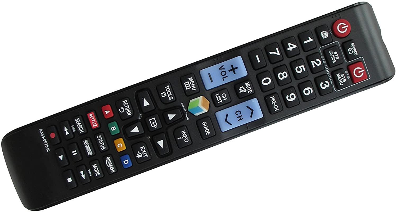 General Remote Control for Samsung UN50H6203AFXZA UN60J6300AFXZA UN46H6203AFXZA PN64F8500AF PS PL64F8500 PL51F8500 UN75JU6500 UN65JU750D UN55JU6700FXZA UN48JU6700FXZA 3D Smart 4K UHD LED HDTV TV