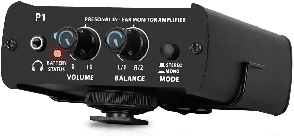 Depusheng PowerPlay P1 Personal In-ear Monitor Stereo Mono Headphone Amplifier