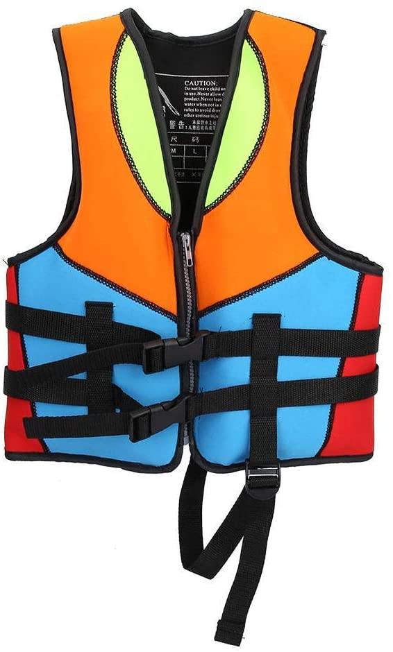 Swimming Jacket for Kids, Swim Floatation Vest Swim Trainer Vest for Kids (3-9 Years Old)