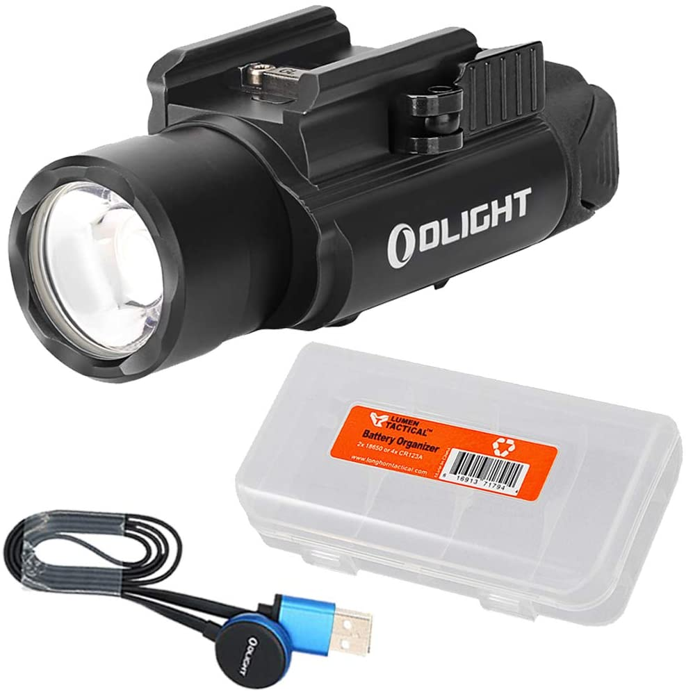 OLIGHT PL PRO Valkyrie 1500 Lumen Rechargeable Weaponlight with LumenTac Battery Organizer