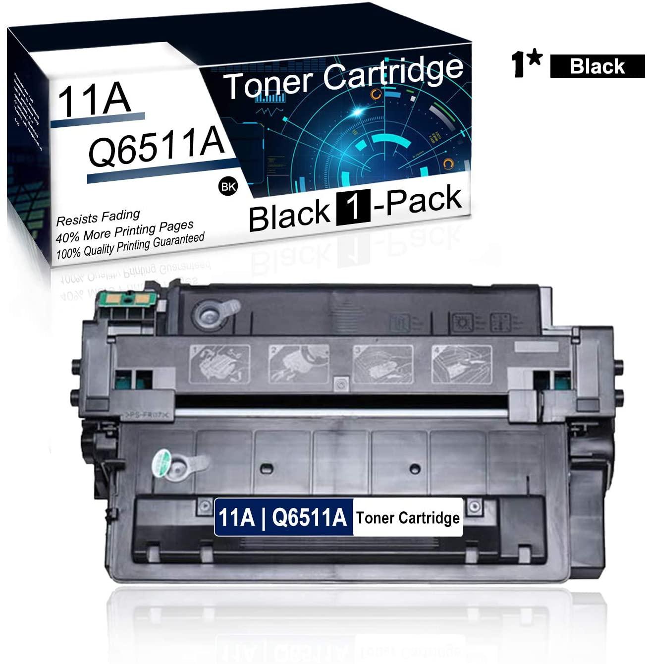 (1Pk,Black) Compatible 11A   Q6511A Toner Cartridge Used for HP Laserjet 2430 2410 2420 2420d 2420n 2420dn 2430tn 2430dtn 2430n Printer Toner Cartridge.