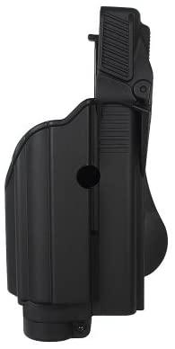 NEW BLACK IMI-Z1600 -TLH Tactical light/laser holster level II for Glock 25/31/32 Gen 4 Compatible - FREE BONUS - New Traveling Kit