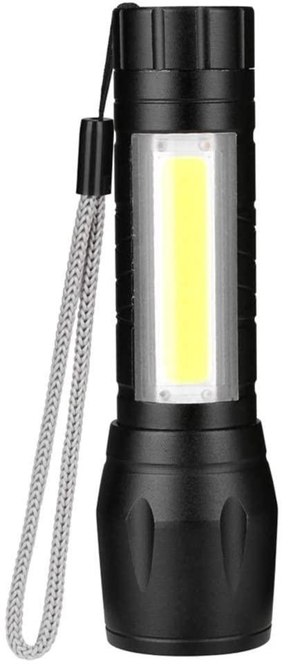 3 Modes Flashlight by AA Battery 3800 Lumen Portable Lantern XPE COB Linternas Camping Lamp Hunting Working Torch (Mode 1)