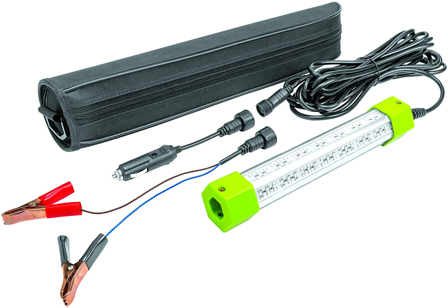Submersible Light - 1600 Lumen| Underwater Fish Attractor Light & Cable, Green