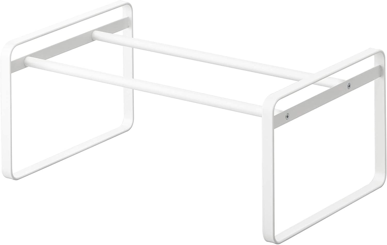 YAMAZAKI home 7209 Frame Adjustable Shoe Rack White
