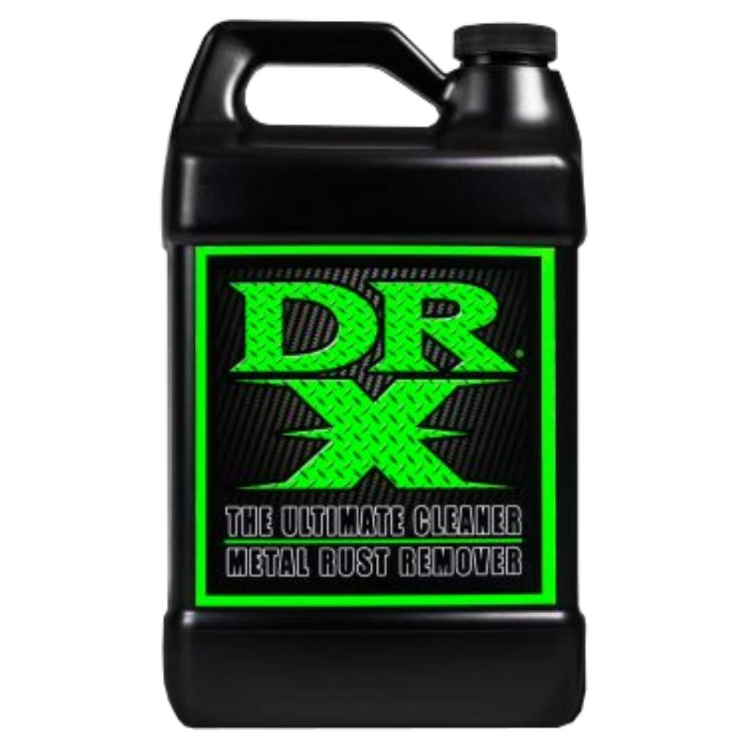 Dr. X Metal Rust Remover, Removes Rust in 3 Minutes, Safe, Biodegradable, Water Based, 1 Quart, Made in The USA