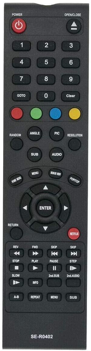 NKF New SE-R0402 Blu-ray Remote for Toshiba BDX2150KU BDK21KU BDX2250KU BDX2250