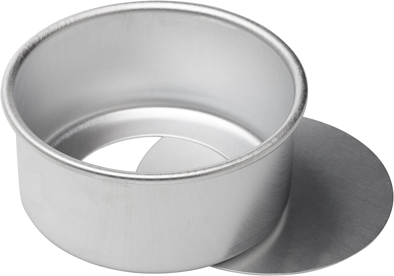 Ateco Aluminum Cake Pan with Removable Bottom, 6 by 3-Inch, Round