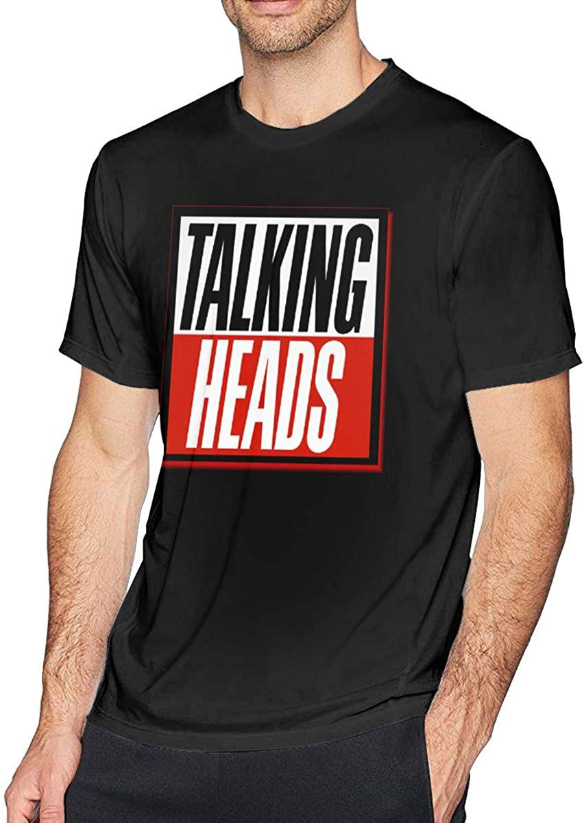 Levoncar Male Funny Printing Tees-Talking Heads The Best of Talking Heads T Shirts