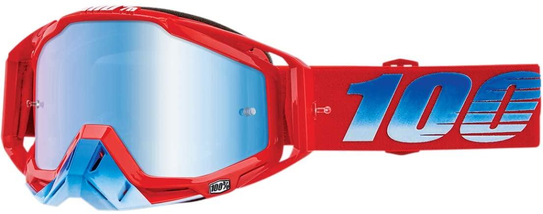 100% Racecraft Goggles - Kuriakin w/Blue Lens