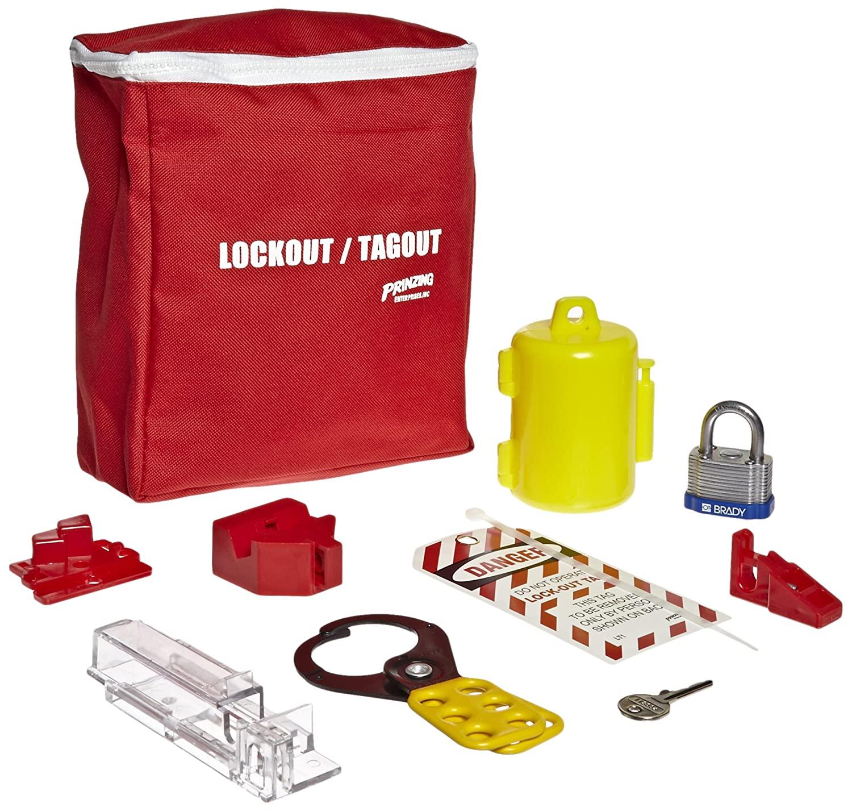 Brady LKELO Prinzing electrical Lockout pouch Kit (1 Kit)