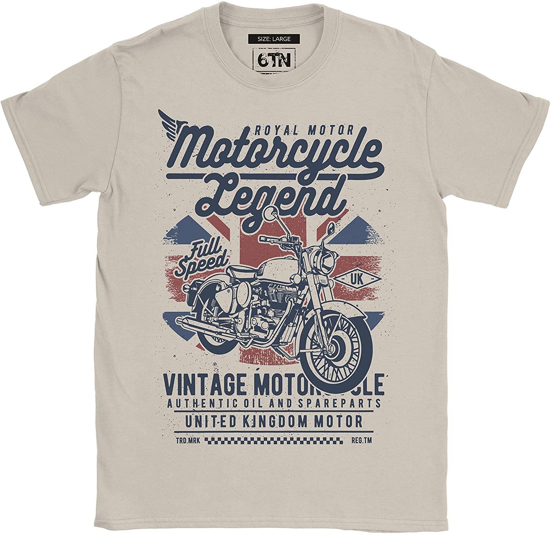 6TN Men's Motorcycle Legend T-Shirt