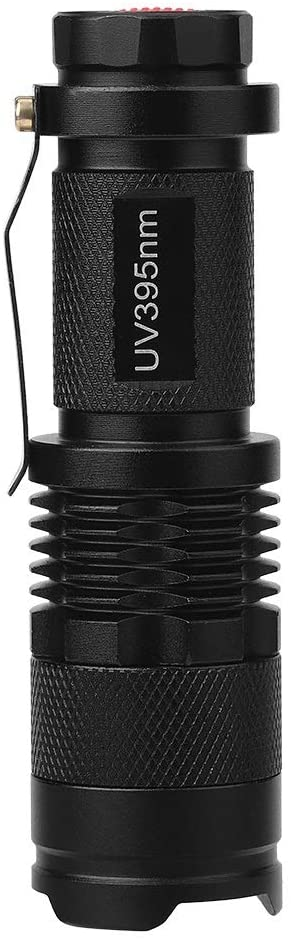 nobrand Unibell UV Ultra LED Flashlight Blacklight Light Inspection Lamp Torch 395nM
