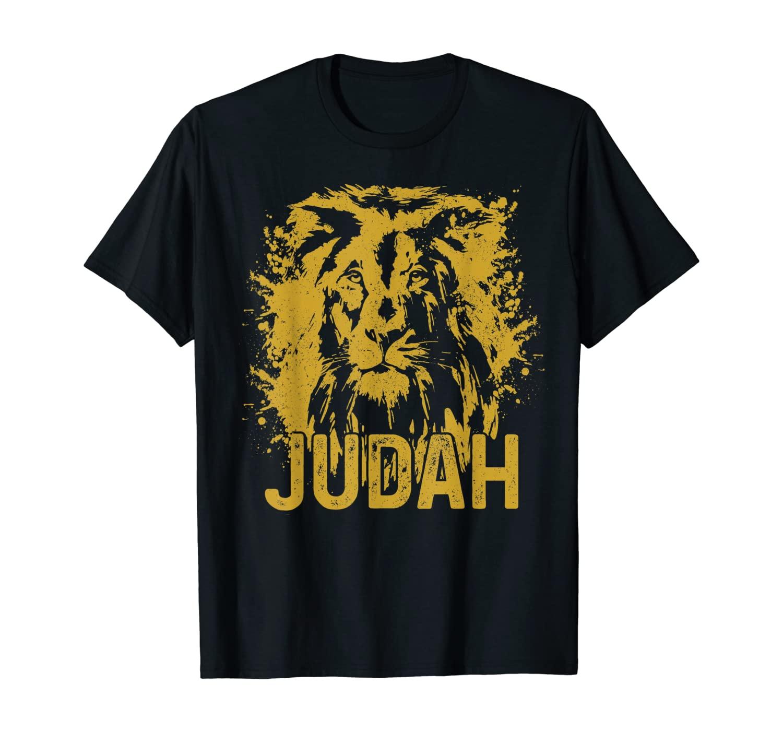 Lion Of Judah Ethiopian Hebrew Israelite Rastafari Gift T-Shirt