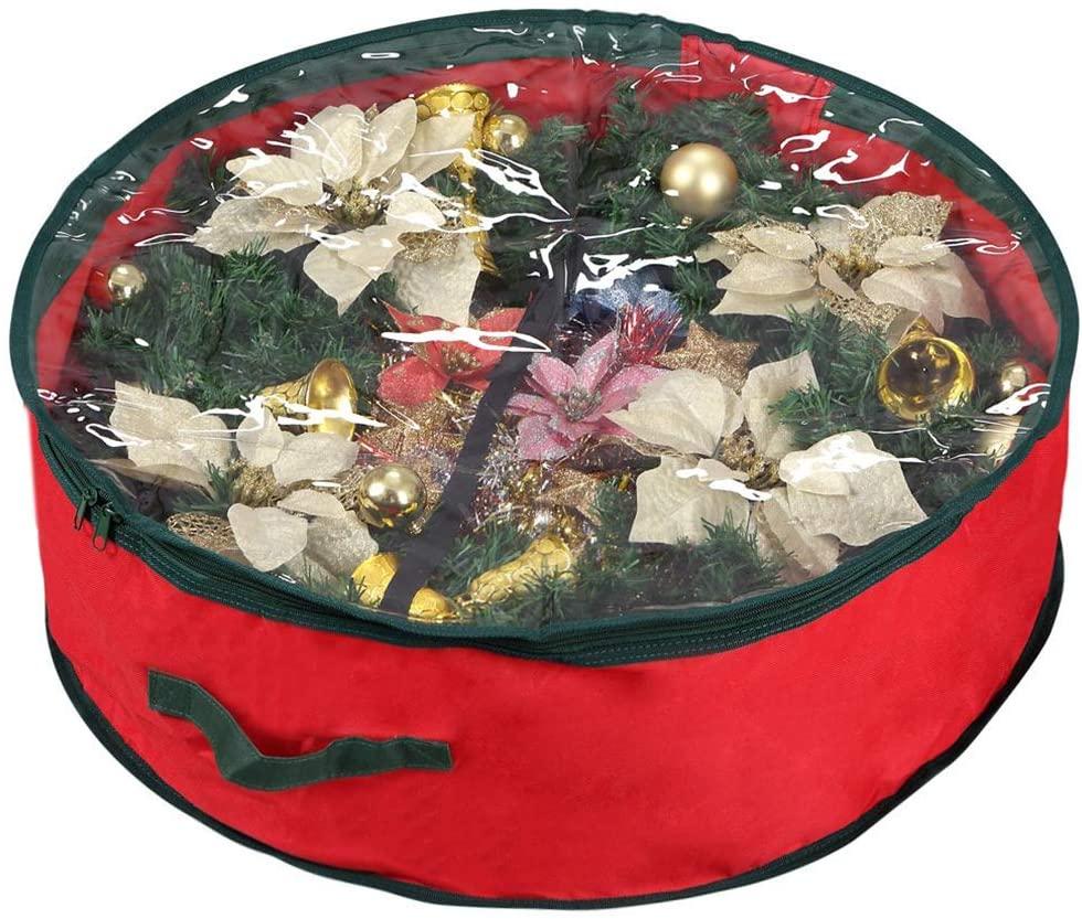 Primode Xmas Wreath Storage Bag 24