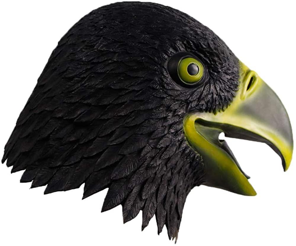 Waylike Bird Mask Latex Eagle Mask Rubber Halloween Mask Animal Latex Head Mask