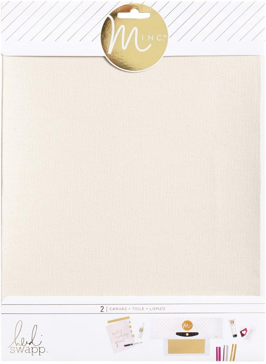 American Crafts Heidi Swapp Minc Substrara Adhesive Canvas 6 Piece