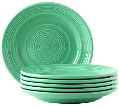 Tuxton Home THCTA074-6B Concentrix Salad Plate, 7.5-Inch, Cilantro Green